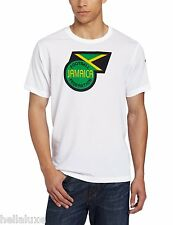 nwt~Kappa JAMAICA FOOTBALL FEDERATION POLY T Shirt-jersey soccer Top~Mens sz Med