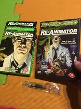 Re-Animator Collectors Edition with Syringe Pen(2xDVD R2)Anchor Bay HP Lovecraft
