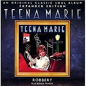 Teena Marie - Robbery (Expanded Edition) [CD]  NEW AND SEALED