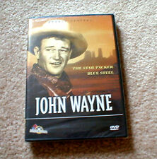 "John Wayne Double Feature Movie: ""The Star Packer & Blue Steel"" (Brand NEW DVD)"