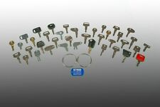 39 Heavy Equipment Key Set- Fits 100's of models of Heavy Equipment Cat-Case