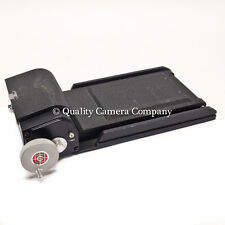 Calumet Roll Film Holder C2 - 4x5 BACK FOR 6x7cm 120/220 FILM FRAMES - EXCELLENT