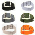New Men's Nylon Sport Wrist WatchBand Strap Infantry Military Army 18/20 mm 1pc