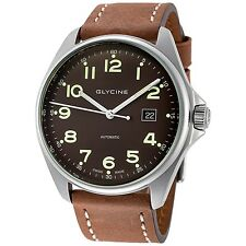Glycine Men's 3890.17AT LB7BH WOL Combat 6 Automatic 43mm Mineral Crystal Watch