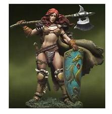 Resin Kits War Lords Verthandi 54MM Human Female Warrior Free Shipping Unpainted