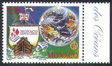 Monaco 1998 EXPO/Ocean/Caravel/Ship/Transport/Commerce/Conservation 1v (n41079)