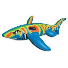 Poolmaster Shark Super Jumbo Float Water and Swimming pool Toys and Inflatables