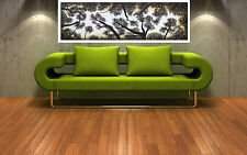 "Print tree forest landscape australia painting on canvas aboriginal art 36"" x12"""