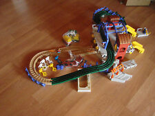 Fisher-Price GeoTrax Rail & Road Grand Central Station Train Set not Complete +