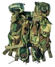 Tactical Load Bearing Vest - Woodland Camo