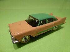 DINKY TOYS 178 PLYMOUTH PLAZA - SALMON GREEN 1:43 - GOOD CONDITION