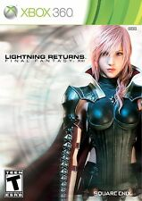Lightning Returns: Final Fantasy XIII (Microsoft Xbox 360, 2014) DISC IS MINT