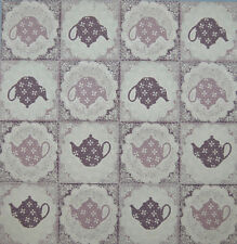 PAPER TABLE NAPKIN FOR CRAFT VINTAGE TEA POT JUG DECOUPAGE TEA PARTIES 168