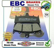 NEW EBC FA188 ORGANIC BRAKE PADS PAD SET FRONT SUZUKI GSXR1000 GSXR 1000 K1 01