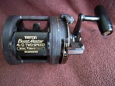 SHIMANO TRITON BeastMaster 4/0 2-Speed Big Game Reel - GOOD COND!!
