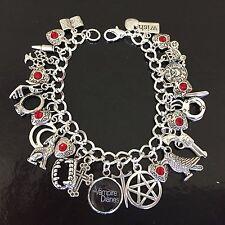 The Vampire Diaries Charm Bracelet, TVD, Elena, Stefan, Damon, Tv Show, Fandom