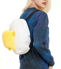 Sanrio LOUNGEFLY Gudetama Lazy Egg Plush Backpack BAG Purse Christmas Gift