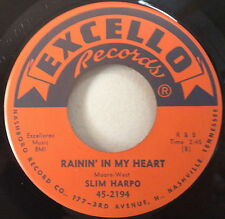 Slim Harpo 1961 Rainin' In My Heart 45 Excello 2194 Org.R&B Blues Rare EX