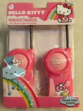 NEW Hello Kitty Pink Walkie Talkies 33409 Age 7+. Free Shipping