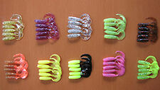 50 RELAX RUBBER FISH TWISTER - 3.5 CM USA HIT !!! 7