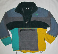 Vintage 90's The North Face Rage Green Fleece Jacket Mens Size XS Womens Medium