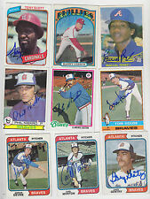 1978 TOPPS SIGNED CARD CLARENCE CITO GASTON BRAVES PADRES PIRATES BLUE JAYS 716