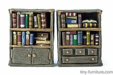 Librarian's bookshelves - D&D, Mordheim, dungeon terrain, dwarven forge, scenery