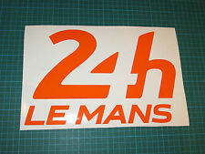 LEMANS LE MANS 24 HOUR DECAL STICKER SMALL