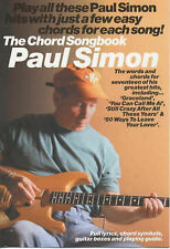 Paul Simon The Chord Songbook Guitar Sheet Music Lyrics Chords B65