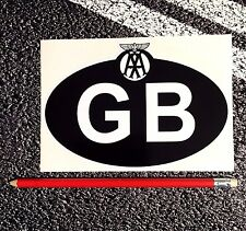 GB ID Sticker + Classic AA Garage Car Motorhome van breakdown services recovery