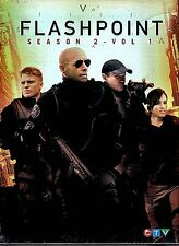 NEW 3DVD SET // FLASHPOINT SEASON 2 vol 1  //  6hr 23 min //