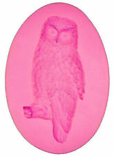 Owl on Small Branch Silicone Mold for Fondant, Gum Paste & Chocolate - NEW