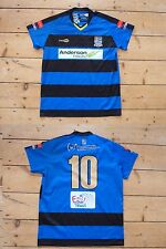 "KINGSTONIAN FC football shirt ""10"" MATCH WORN soccer jersey Kingston Surrey"