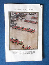 Trooping The Colour Programme - 12/6/1965