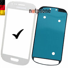 Samsung Galaxy s3 mini i8190 pantalla LCD cristal touch screen Glass blanco original