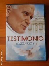 DVD TESTIMONIO - LA HISTORIA INEDITA DEL PAPA JUAN PABLO II (Y7)