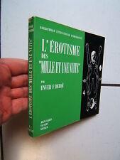 DEHOI /  L EROTISME DES MILLE ET UNE NUITS   /  PAUVERT  /  1962