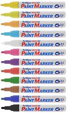 Artline 400XF Paint Pen Liquid Marker Waterproof Metal Wood Plastic - Pack 12