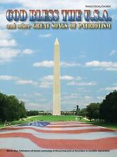 God Bless the U.S.A. and Other Great Songs of Patriotism: Piano/Vocal/Chords Wa