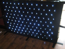 120 White LED star cloth curtain dj equipment  Fit's 4ft dj stand 170cm x 100cm