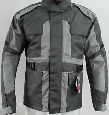 Men Motorbike Motorcycle Cordura Safety Jacket PU Armour Medium size New
