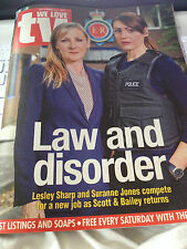 WE LOVE TV MAGAZINE 2014 SURANNE JONES LESLEY SHARP MARTIN SHAW JOHN NETTLES