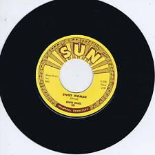 EDWIN BRUCE - SWEET WOMAN / PART OF MY LIFE (Killer SUN label ROCKABILLY) REPRO