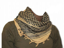 BRITISH ARMY DESERT BIEGE TAN SAND ARAB SHEMAGH SCARF Survival 100% Cotton