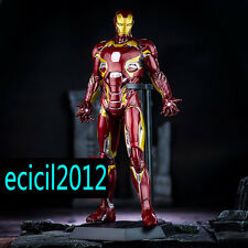 Marvel Universe Avengers Superhero Iron Man Statue Mark 45 Figure Crazy Toys