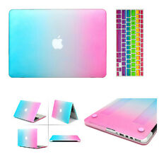 Rubberized Matt Hard Case + Keyboard Cover for Macbook Air Pro 11 13 '' Retina