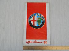 DEPLIANT ORIGINALE 1987 CIRCA PRODUZIONE ALFA ROMEO 75 164 33 SPIDER SPRINT