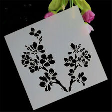 Scrapbooking Cherry tree shape Stencil for art craft spray cake and Home decor