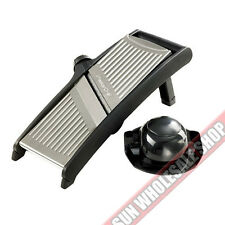 100% Genuine! MASTERCHEF Stainless Steel Mandoline Slicer! Last for years!