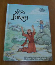 Story of Jonah-An Alice in Bibleland Storybook Book Club Edition 1984-Davidson